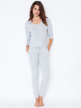 Jumpsuit grey.