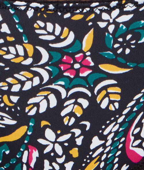 Tanga imprimé floral