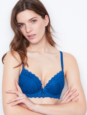Soutien-gorge n°1 - magic up bleu vif.