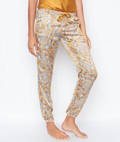 Pyjamahosen gelb.