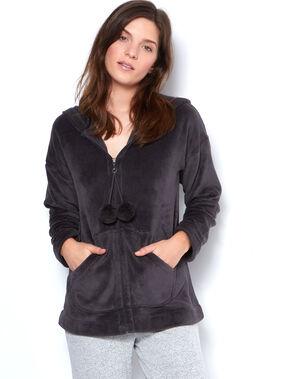 Inner jacket grey.