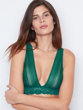 Bralette grün.