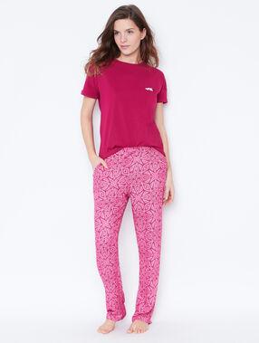 Pyjamahosen rosa.