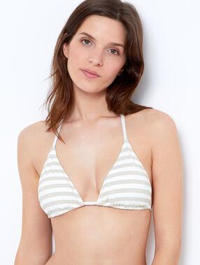 Triangle bra white.