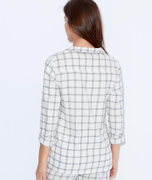 Printed pyjama shirt;${refinementColor}