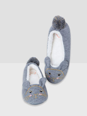 Chaussons grey.