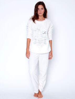 2 pieces pyjamas white.