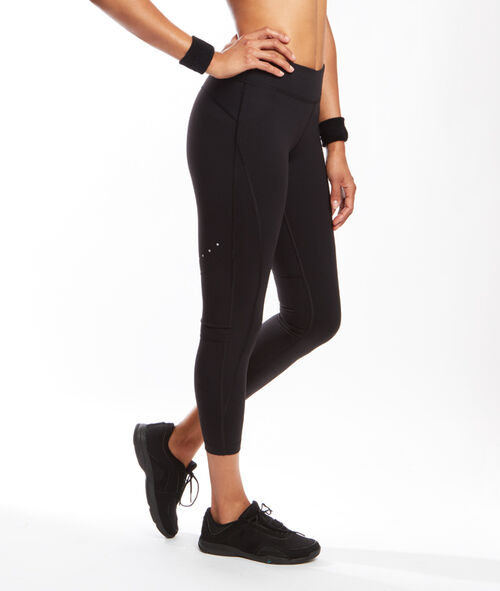 Pantalon 7/8 ultra stretch effet galbant