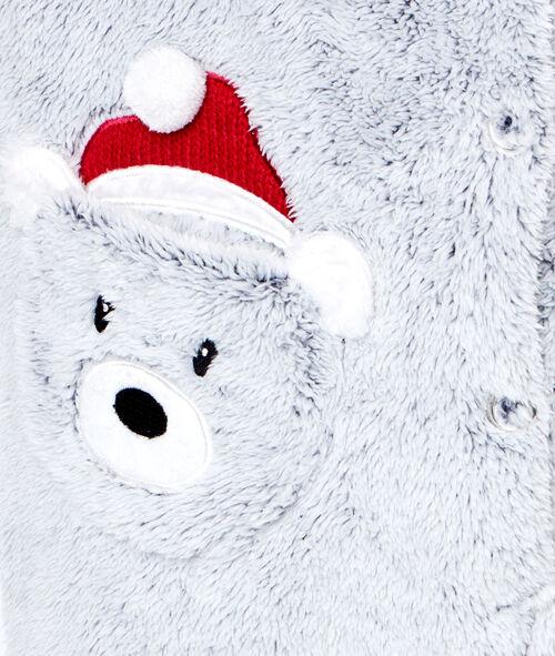 Combinaison toucher polaire à capuche