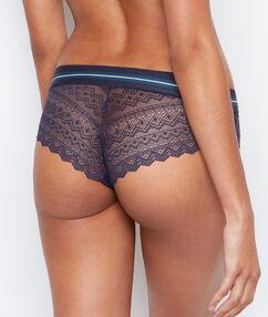 Lace shorts grey.