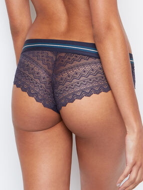 Lace shorts grey.