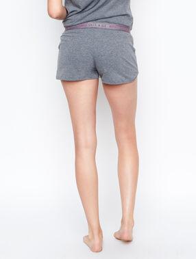 Pyjama shorts grey.