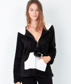 Inner jacket black.