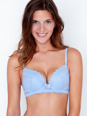 Soutien-gorge n°1 - magic up bleu ciel.
