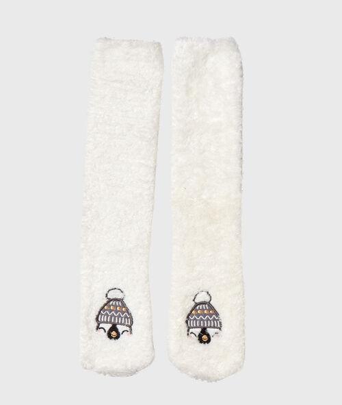 Chaussettes d'intérieur doudou