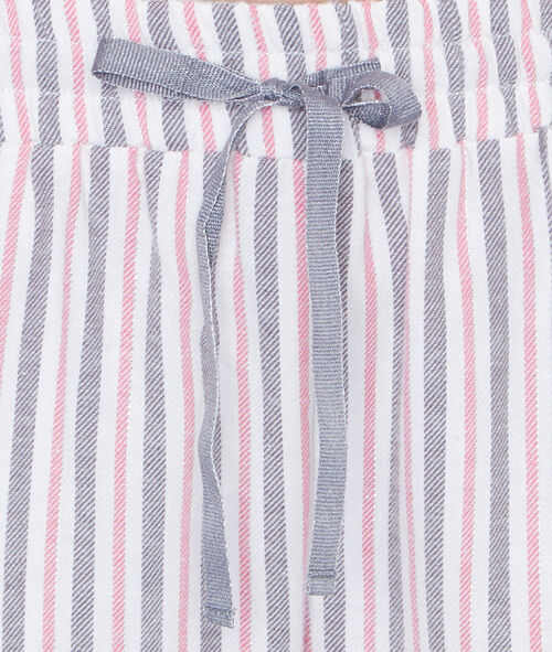 STRIPED PYJAMA PANTS;${refinementColor}