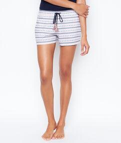 Pyjama shorts white.