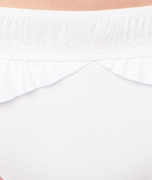 Culotte de bain, détails volants Swildens