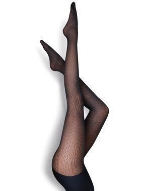 Collants noir.