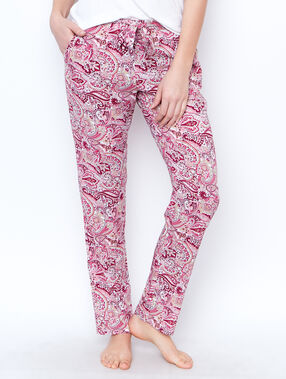 Pyjamahosen burgundy.
