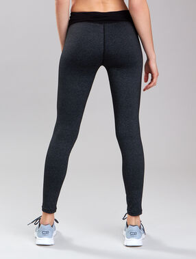Ultra-strech pants, reflecting details grey.