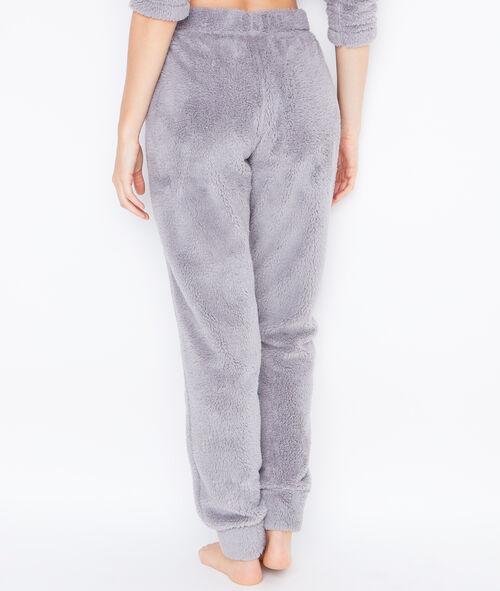 Pyjama 2 pièces toucher polaire