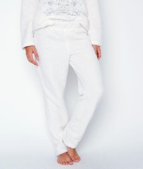 Pyjama 2 pièces toucher polaire;${refinementColor}