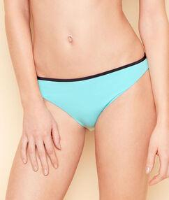 Braguita bikini bicolor azul.