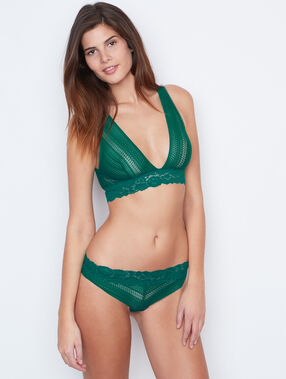 Lace hipster green.