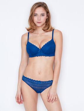 Vorgeformter-bh aus spitze blau.