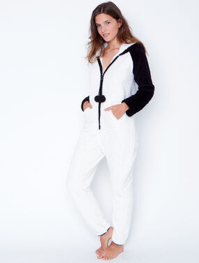 Jumpsuit white.
