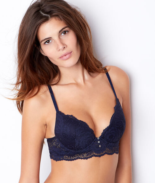 Soutien-gorge push up plongeant;${refinementColor}