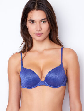 Micro magic up® bra blue.