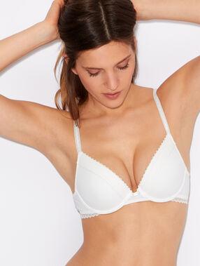 Micro magic up® bra white.