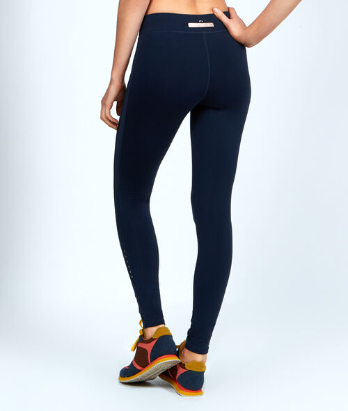 Pantalon ultra-strech, effet galbant, détails réfléchissants;${refinementColor}