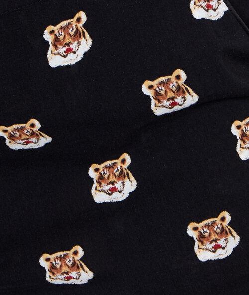 Tiger printed pyjama pants