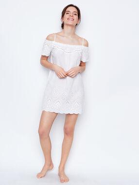 Nightdress white.