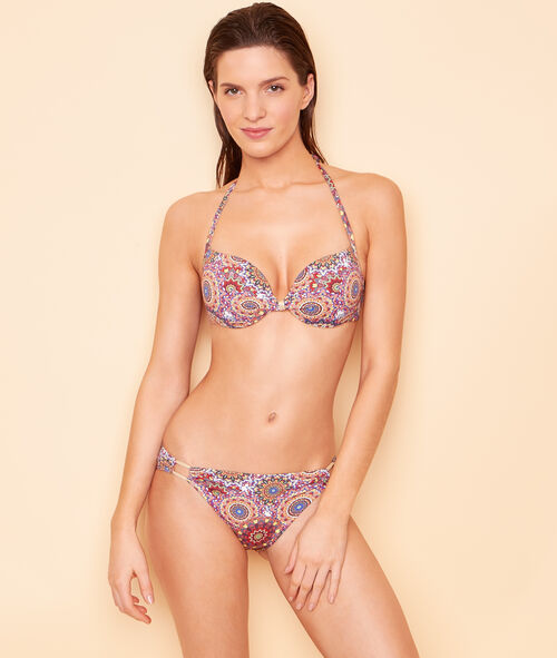 Sujetador bikini Magic up® estampado psicodélico. Copa B;${refinementColor}
