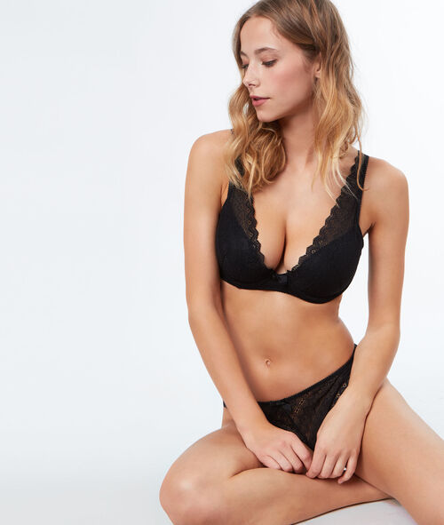 Soutien-gorge triangle ampliforme;${refinementColor}