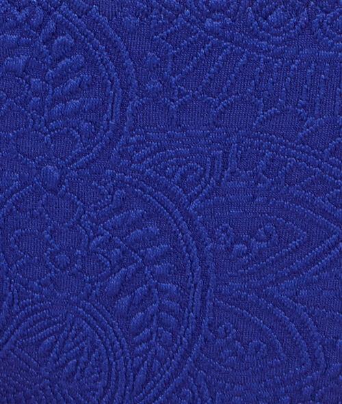 Culotte de bain motif chachemire, détails perles