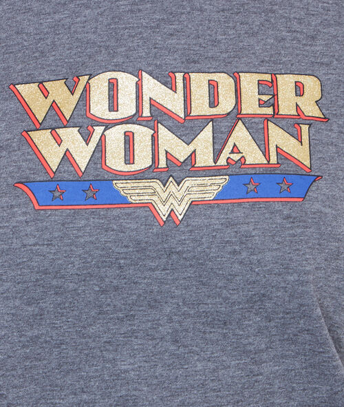 T-SHIRT IMPRIME WONDER WOMAN;${refinementColor}