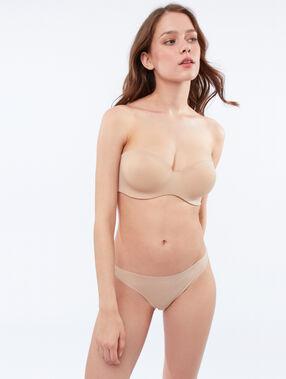 Soutien-gorge ampliforme beige/ peau.