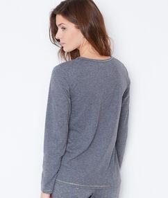 Bluzka z napisem gris.