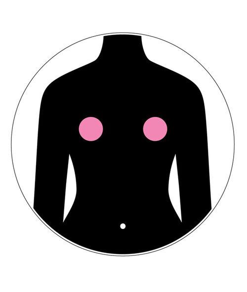 Silicone for bra;${refinementColor}