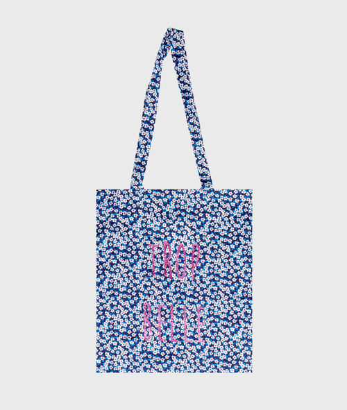 Tote bag liberty et pailleté;${refinementColor}