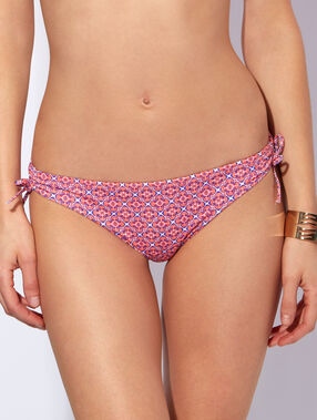 Bikini bottom rosa / blau.