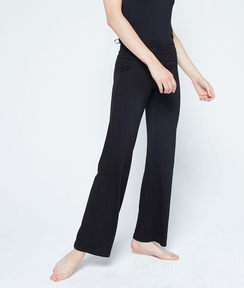 Lejące spodnie z wiskozy;${refinementColor}
