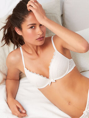 Soft bra: soutien-gorge magic up® ecru.