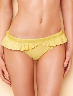 Knickers yellow.