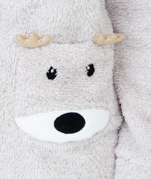 Polar jumpsuit with hood;${refinementColor}